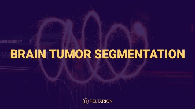 BRAIN TUMOR SEGMENTATION