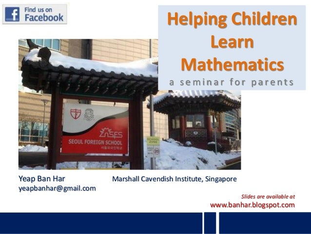 Helping Children                                             Learn                                         Mathematics    ...