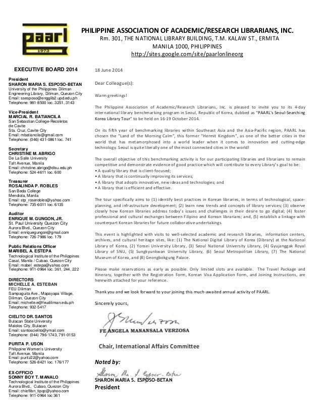 Seoul searching korea invitation letter seoul searching korea invitation letter executive board 2014 president sharon maria s esposo betan university of the philippines diliman stopboris Choice Image