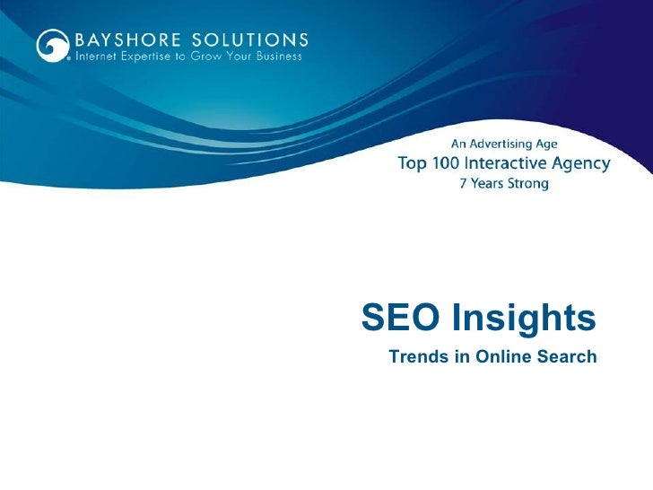 SEO Insights Trends in Online Search