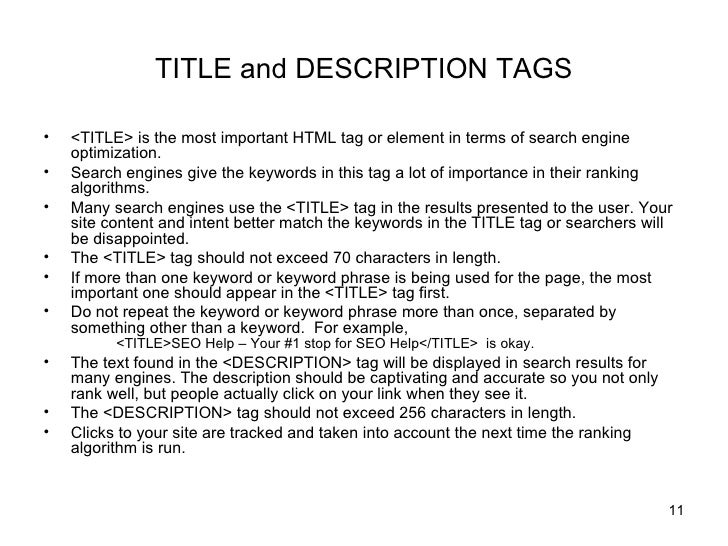 Seo Web Site Design And Content Guidelines