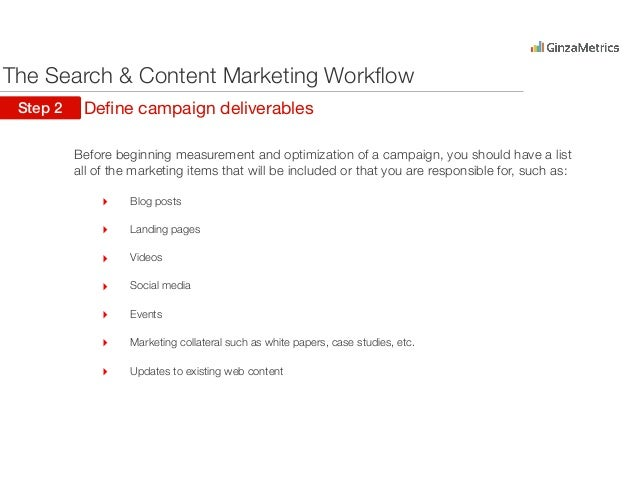 Search & Content Workflow for Marketers Slide 3