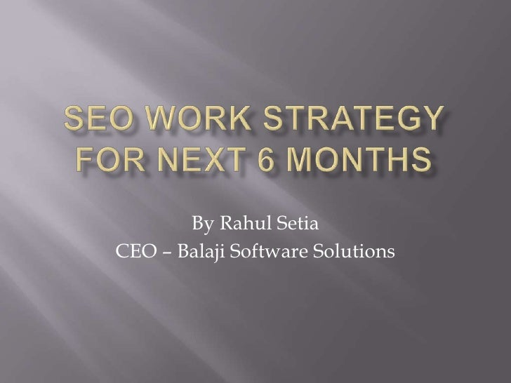 By Rahul SetiaCEO – Balaji Software Solutions
