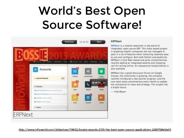ERPNext Open Day September 2013 Slide 3