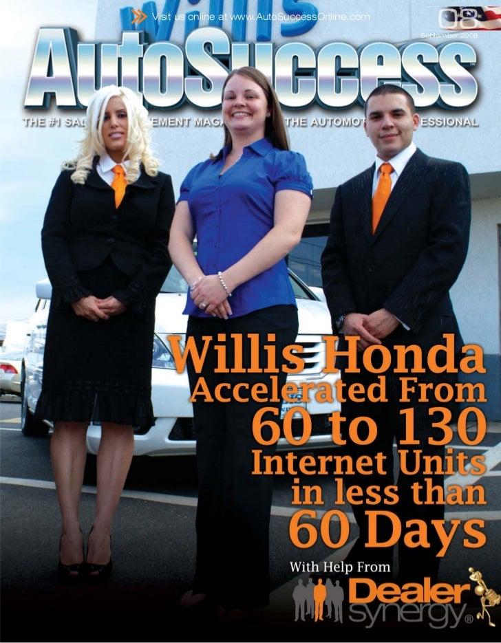 Visit us online at www.AutoSuccessOnline.com                                               September 2008