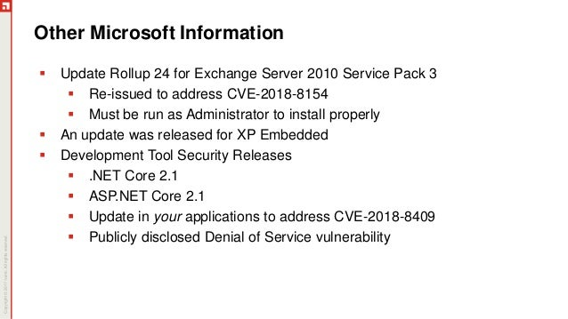 September Patch Tuesday Analysis 2018