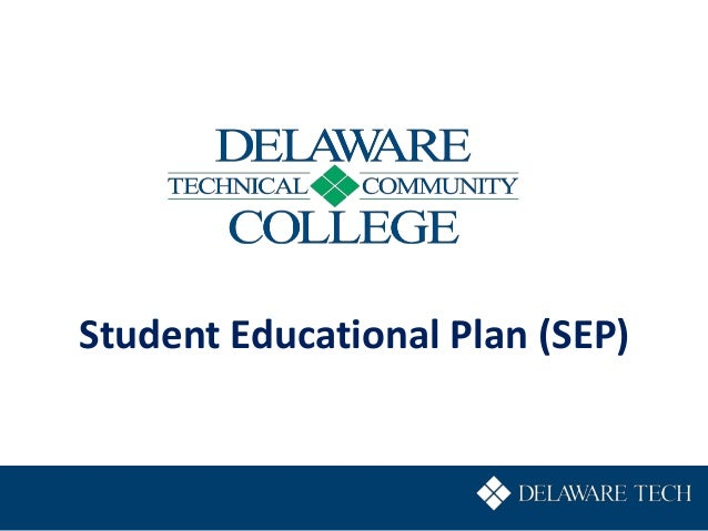 Student Educational Plan (SEP)