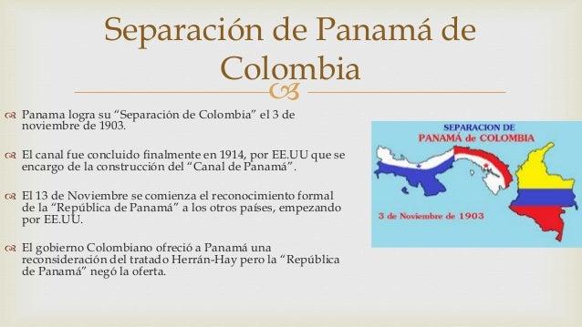 La separaci n de panam de colombia - Separacion de bienes despues de casados ...