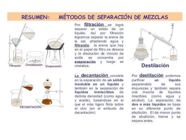 Separacionmezclas