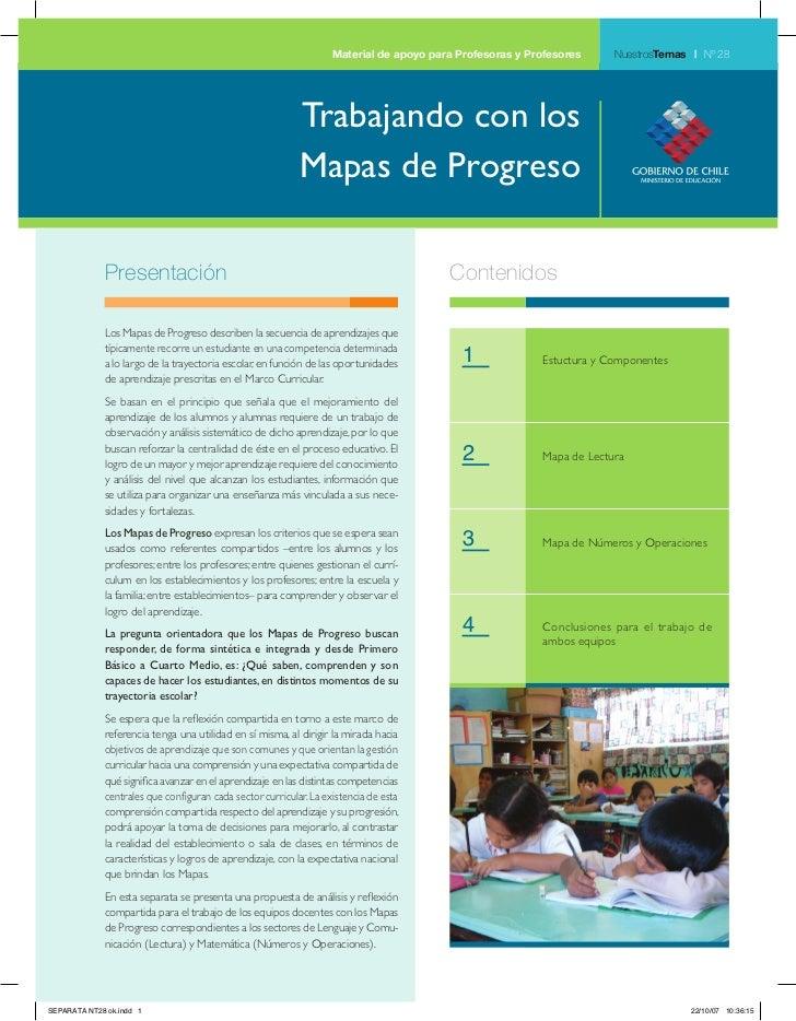 Material de apoyo para Profesoras y Profesores     NuestrosTemas | Nº 28                                                  ...