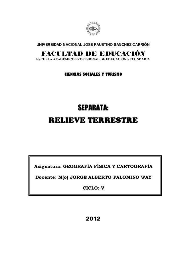 Universidad Nacional José Faustino Sánchez Carrión.  Facultad de Educación – EAPES  UNIVERSIDAD NACIONAL JOSE FAUSTINO SAN...