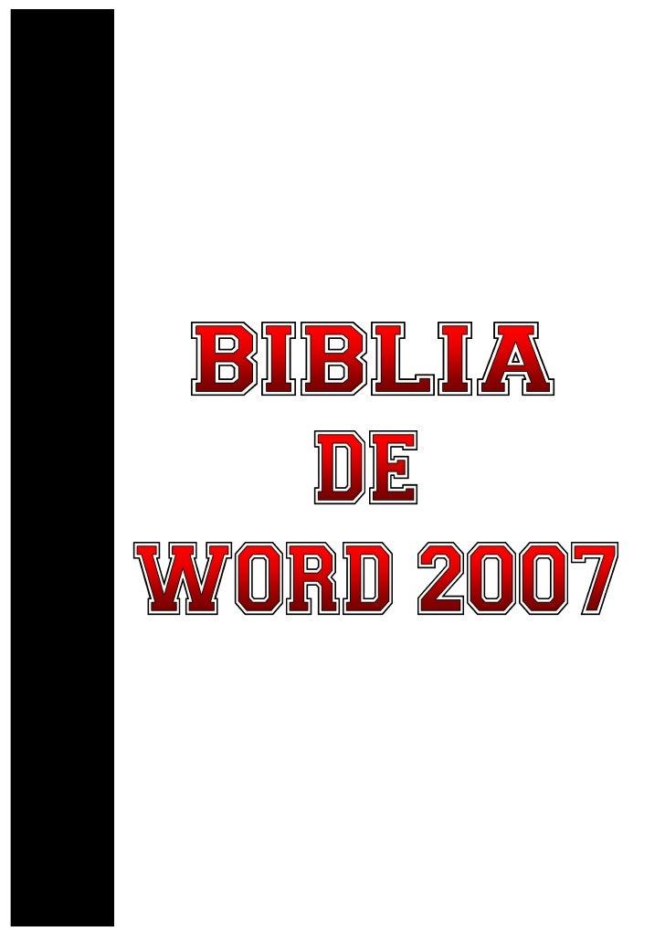 1. Mi primer documento. 2. Introducción. Elementos de Word2007 3. Edición básica. 4. Guardar y abrir documentos. 5. Format...