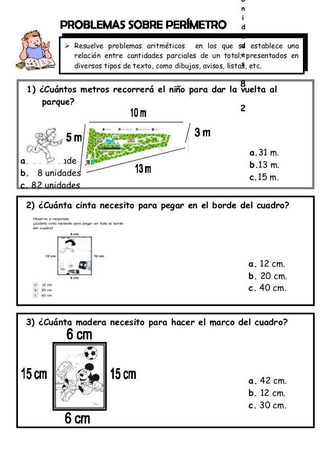 Ejercicios Matematicos Para 2 Grado