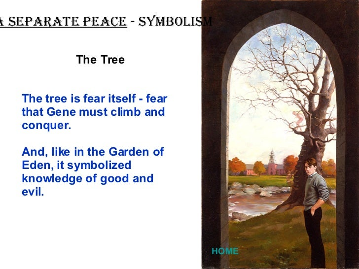 a separate peace evil Get an answer for 'discuss phineas and gene as allegorical or symbolic characters representing good and evil in a separate peace' and find homework help for other a separate peace questions at enotes.