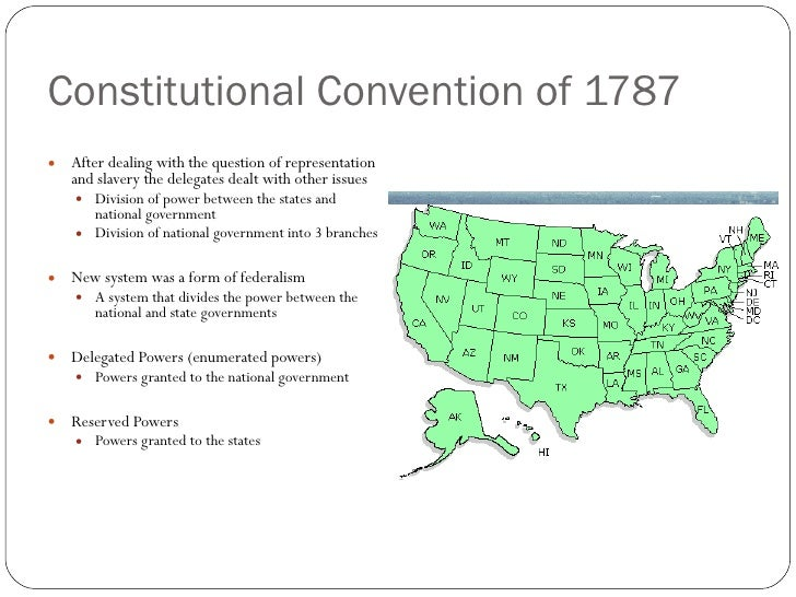 the compromises between the states at the constitutional congress of 1787 Source: engrossed and corrected copy of the articles of confederation, showing amendments adopted, november 15, 1777, papers of the continental congress, 1774-1789 records of the continental and confederation congresses and the constitutional convention, 1774-1789, record group 360 national archives.