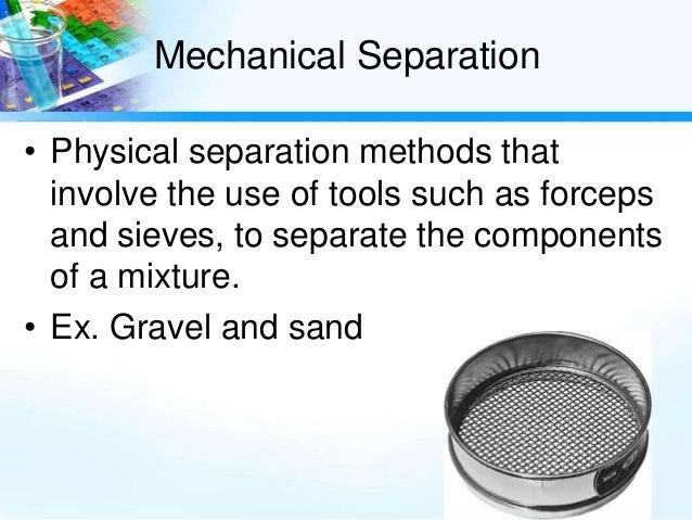 separation techniques and enterance to chromatography