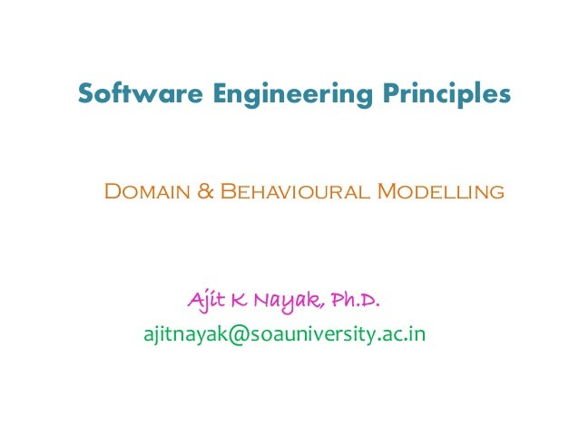 Software engineering behavioral modelling i sequence diagram ccuart Choice Image