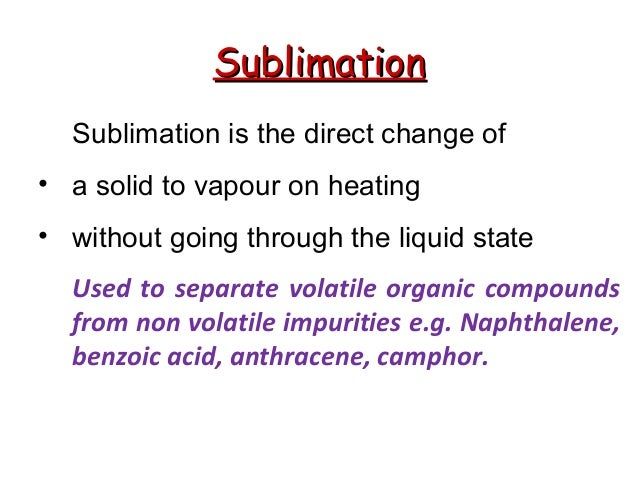 chemistry module 6 separation of a mixture of solid essay