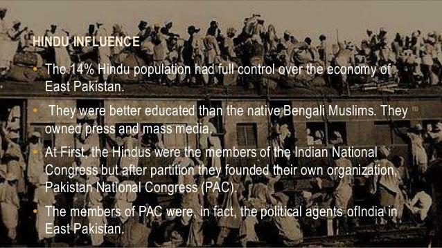 partition of east pakistan