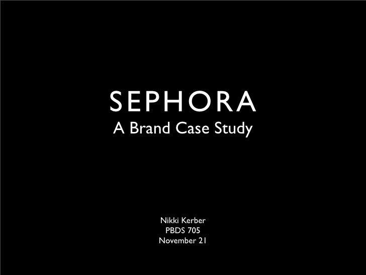 Brand case study presentation