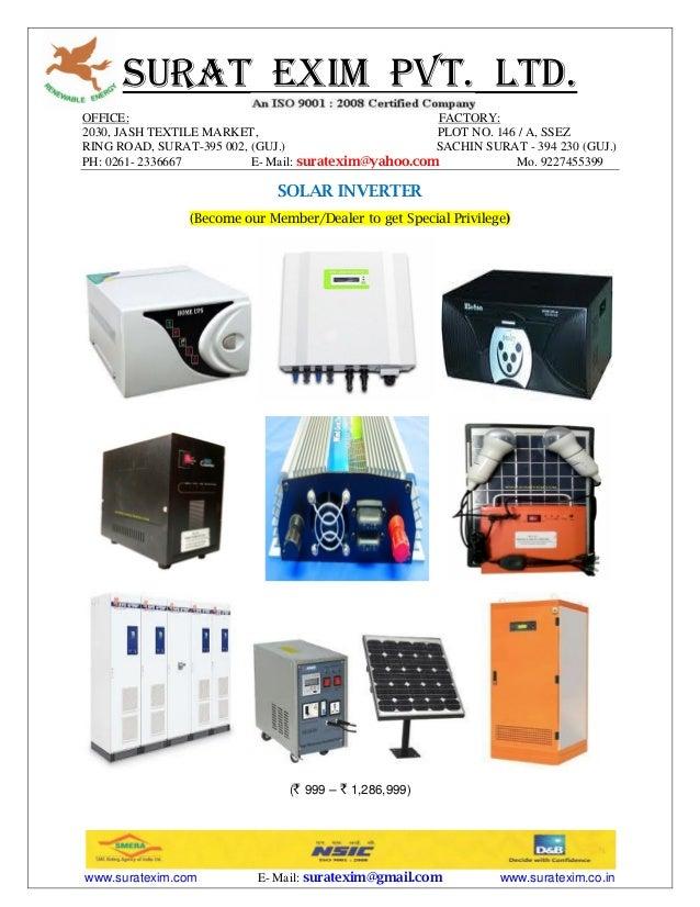SURAT EXIM PVT. LTD. OFFICE: FACTORY: 2030, JASH TEXTILE MARKET, PLOT NO. 146 / A, SSEZ RING ROAD, SURAT-395 002, (GUJ.) S...
