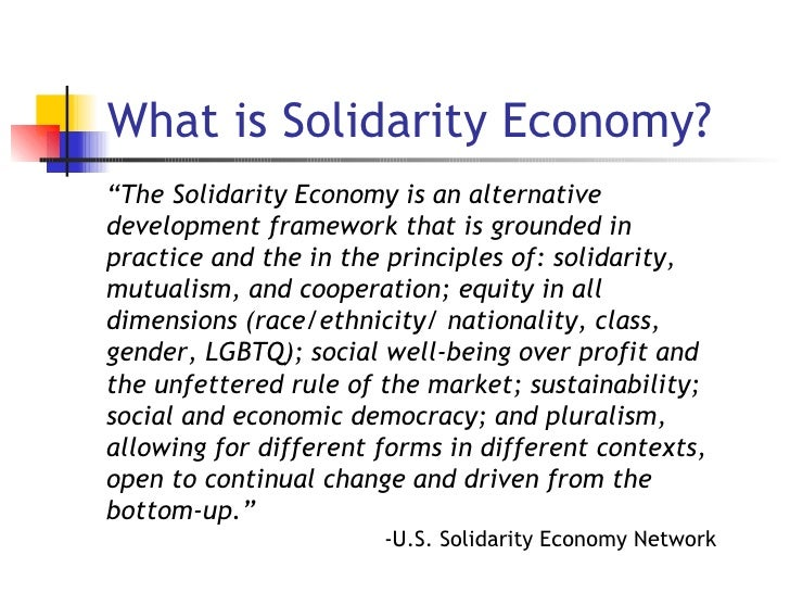 Mapping the Solidarity Economy Slide 2