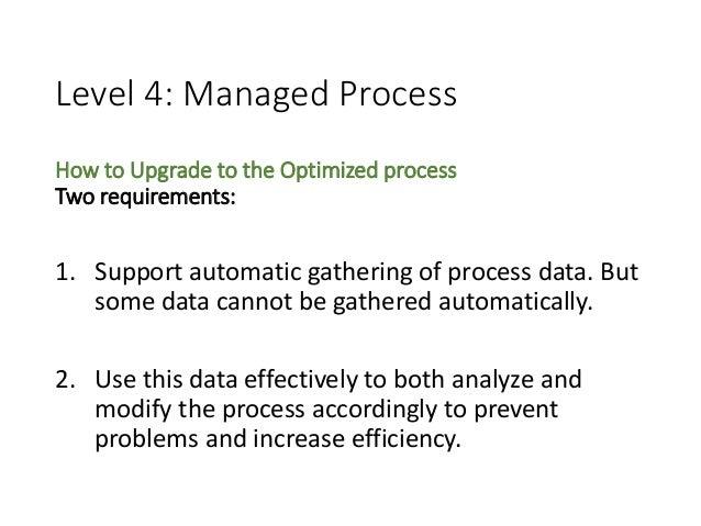 Characterizing the Software Process: A Maturity Framework