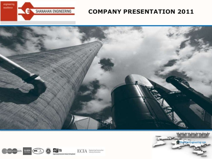 COMPANY PRESENTATION 2011<br />