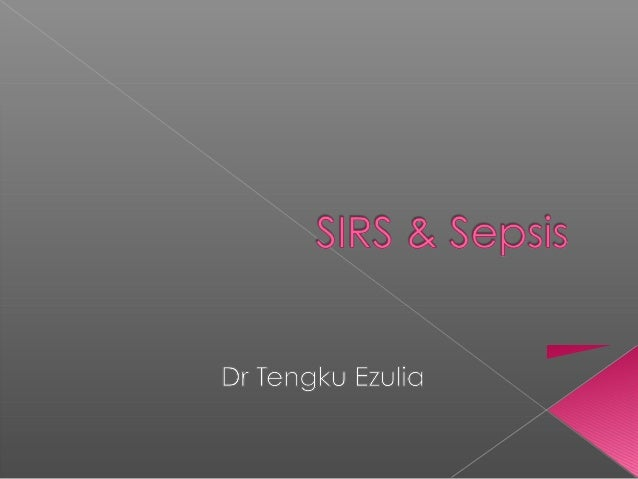  To know definitions of SIRS, sepsis, septic  shock, MODS To learn basic pathophysiologyBut first, a real case: