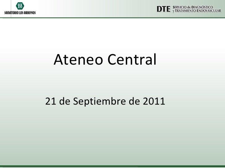 Ateneo Central 21 de Septiembre de 2011
