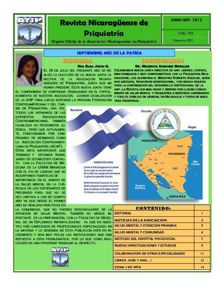 2012                         Revista Nicaragüense de                                             JUNIO-SEP.               ...