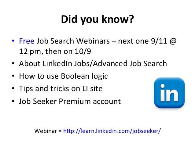 15. Did You Know? U2022 Free Job Search ...