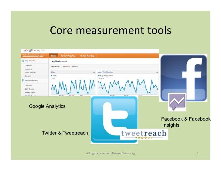 Core measurement tools                                     Google Analytics                                         ...