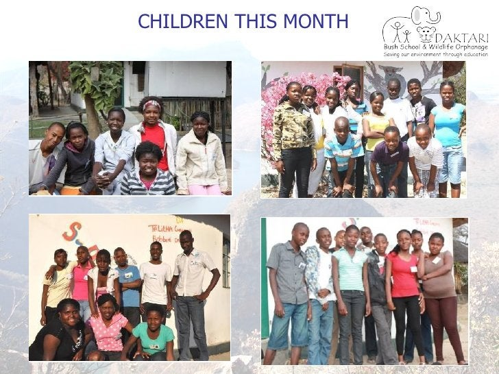 CHILDREN THIS MONTH