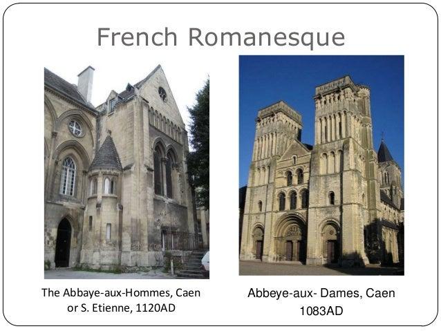 History Of Architecture 2 Sept 2012 Romanesque Architecture