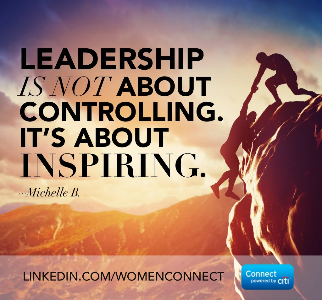 Why Leadership Is Not About Control