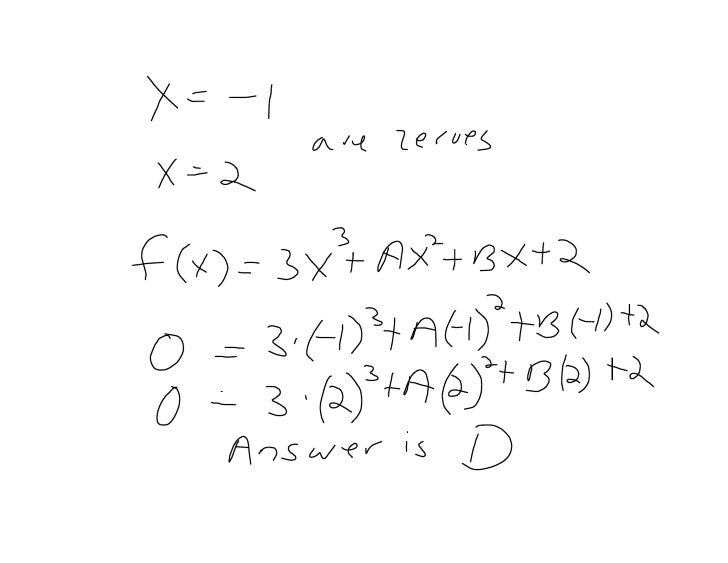 AP Calculus Test Chapter 1 September 25