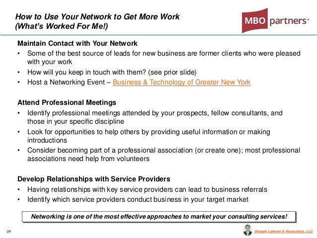MBO Partners Webinar Become a Preferred Client For Top Enterprises