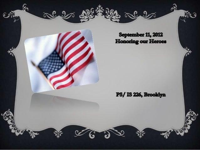 September 11 hero 2012