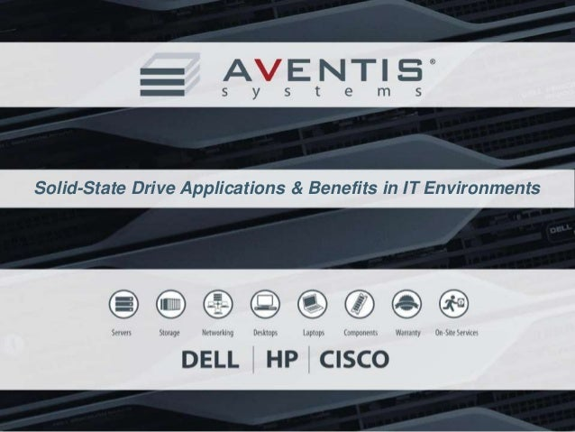 Solid-State Drive Applications & Benefits in IT Environments