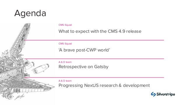 Silverstripe CMS 4.9.0 release and beyound Slide 3
