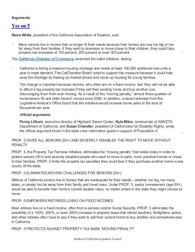 Southwest California Legislative Council September agenda