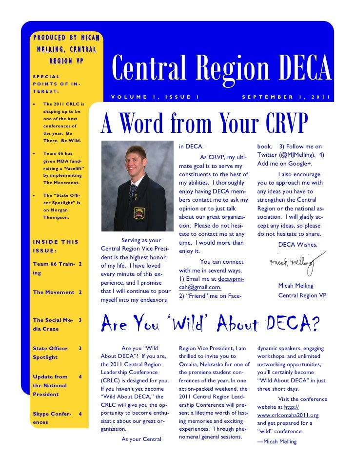PRODUCED BY MICAH                                 Central Region DECA    MELLING, CENTRAL         REGION VPSPECIALPOINTS O...