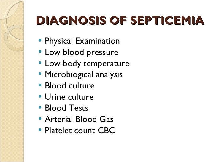septicemia, Skeleton