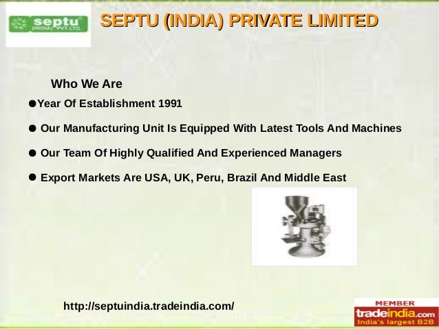 Septu india pvt ltd gurgaon haryana india for City indian dining ltd t a spice trader