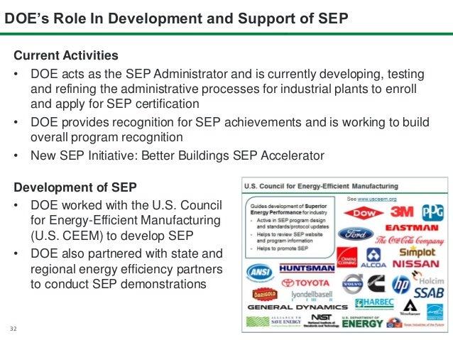 Achieving Superior Energy Performance (SEP) - U.S. DOE