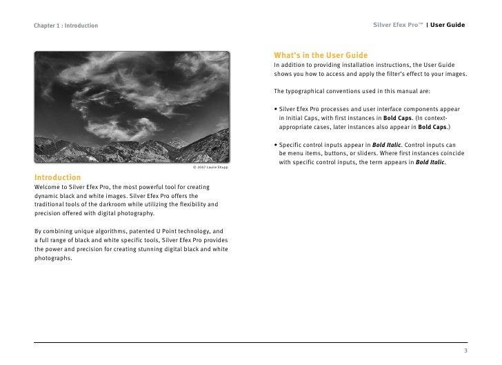 Silver Efex Pro user guide Slide 3