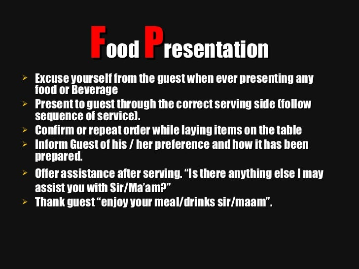 fine dining proper table service. 16. fine dining proper table service