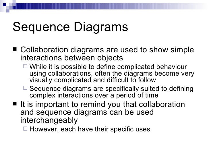 Sequence diagrams sequence diagrams ullicollaboration diagrams are used to show simple interactions ccuart Gallery