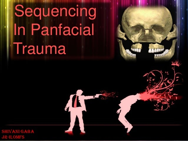 Sequencing In Panfacial Trauma Shivani gaba JR-II,OMFS